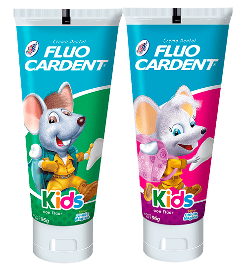 Crema Dental Fluocardent Kids
